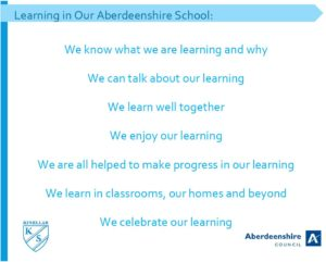Learning in Aberdeenshire